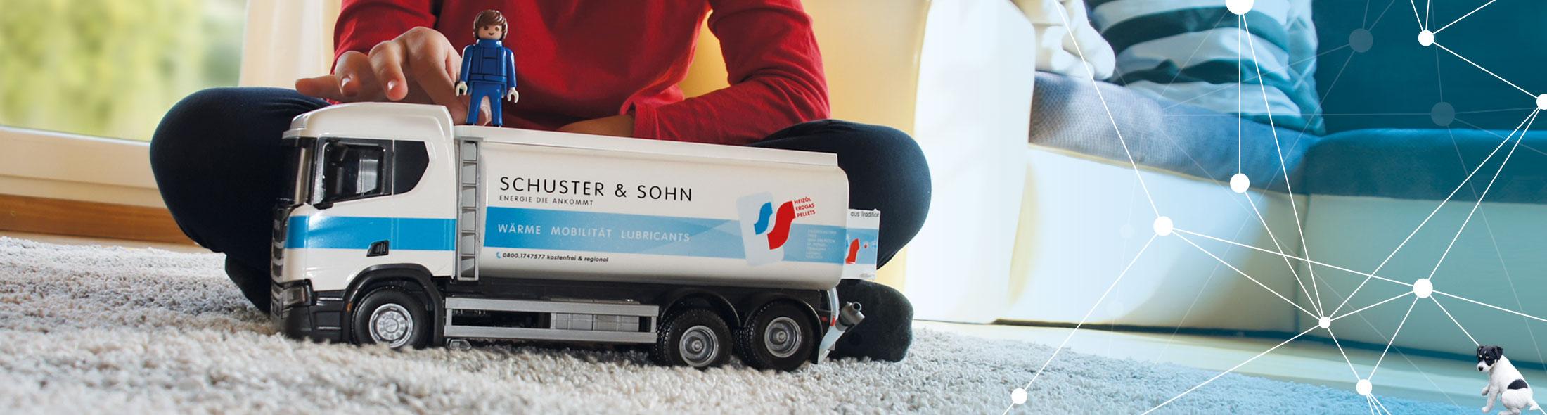 Heizöl nur von Schuster & Sohn